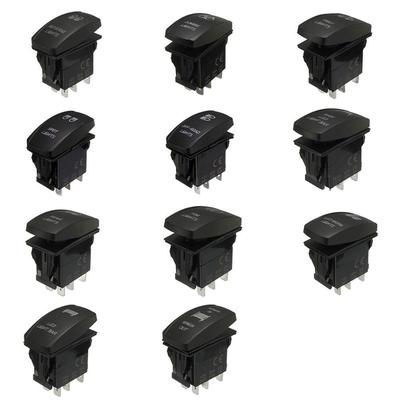 Universal Choosable 5 Pin Laser Etched Rocker Switch Led