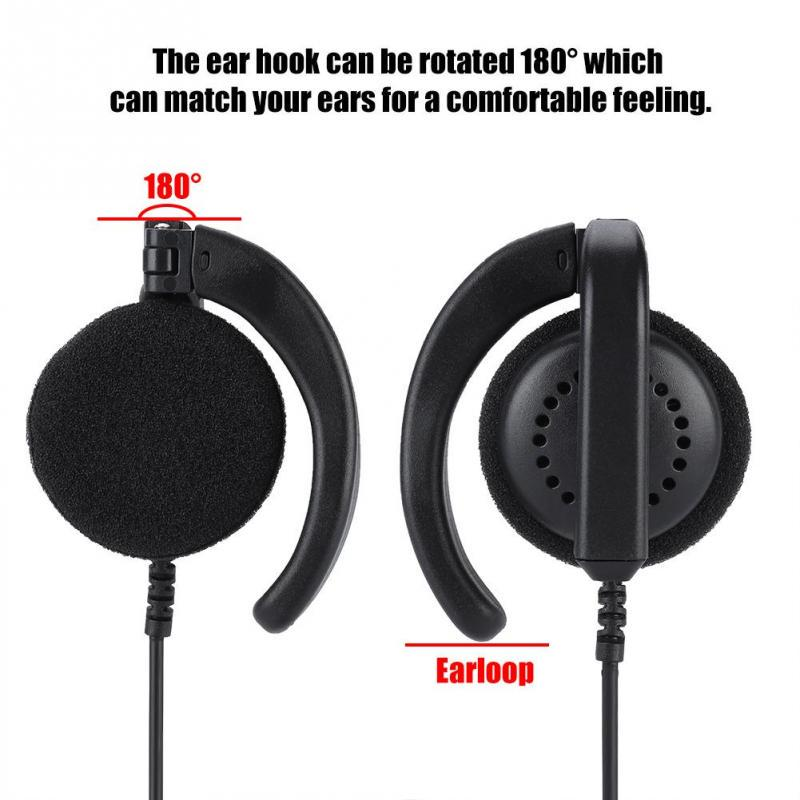 Bluetooth Headset Walkie Talkie Portable Earphone For GP88 CLS1410 CLS1413 CP110