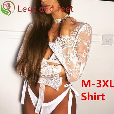 Sheer Women/'s Casual Lace Plus Size Temptation Loose Babydoll Sleepwear Dressing