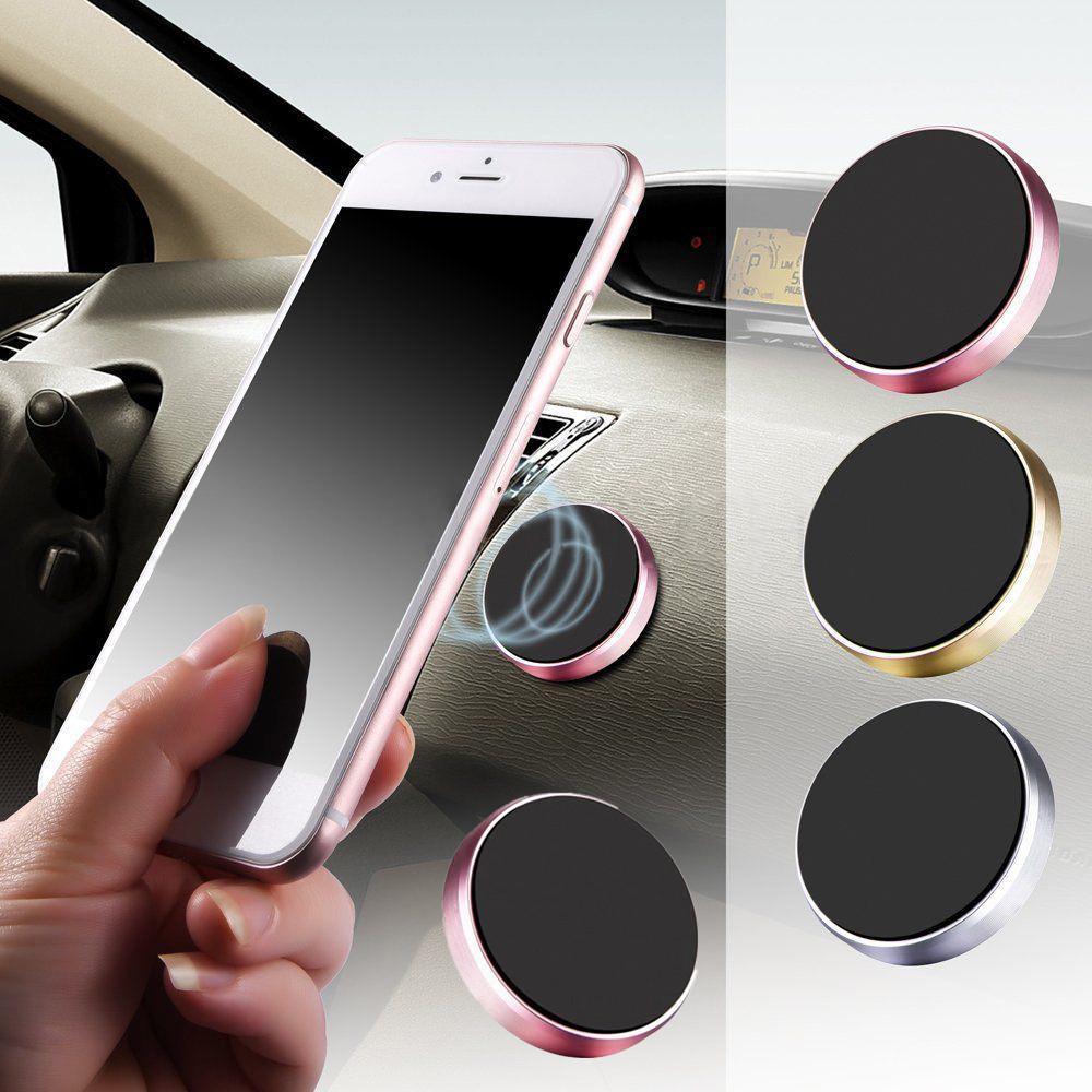 迷你磁性万能贴片金属车载手机汽车用多功能磁铁吸手机导航支架