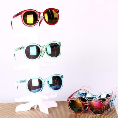 6Pair Sunglasses Eyeglass Glasses Frame Rack Display Stand Organizer Show Holder