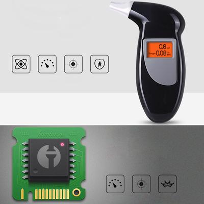 Advance Digital Police Breath Alcohol Tester Breathalyzer Analyzer Detector FE