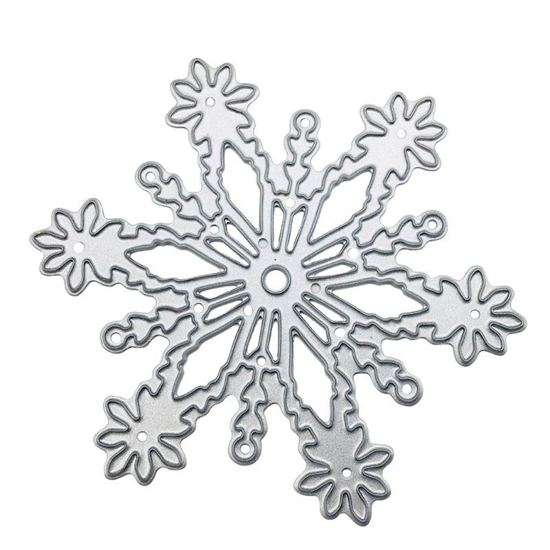 Christmas Snowflake Metal Cutting Dies Stencil Scrapbooking DIY Paper Album Card