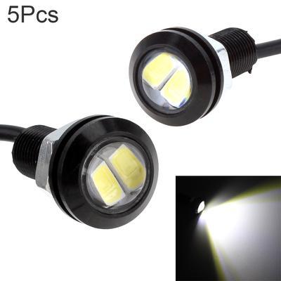 10pcs White 6000K Eagle Eye 9W 18MM 5730 Chip Car Fog Light DRL Bulb Signal