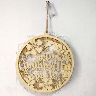 Ornamente De Lemn Luminos Led Lumina Decoratiuni Cadouri купить по