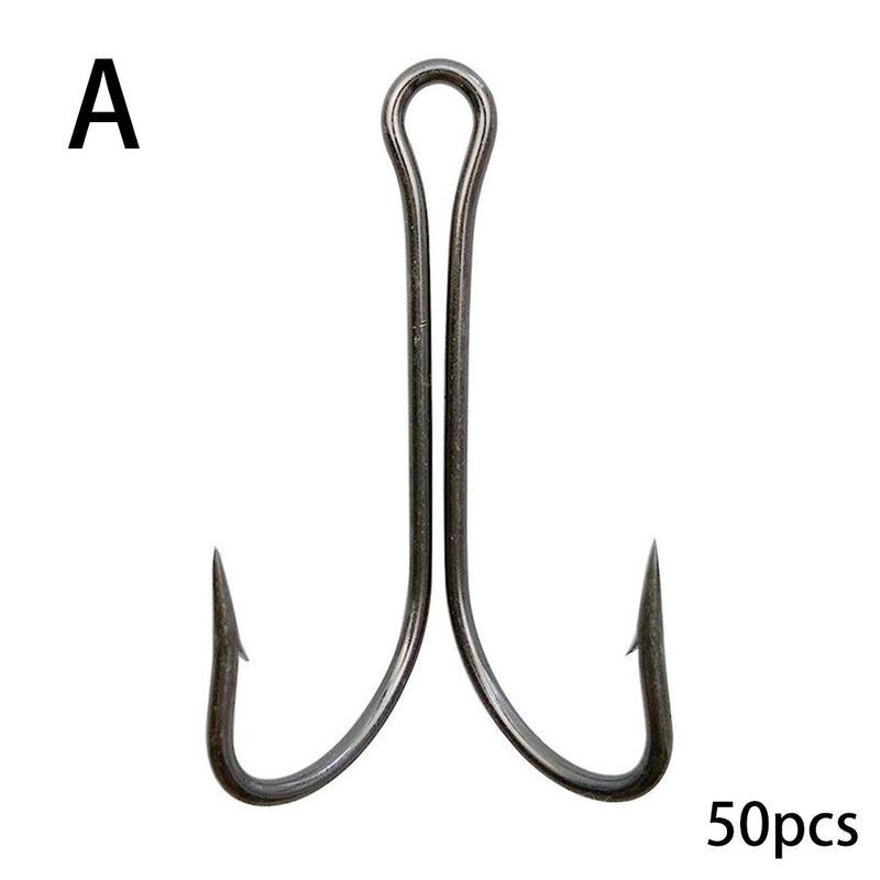 Carbon Steel Sharp Tied Fish Hook with line Jigging Bait Barbed Carboon Steel