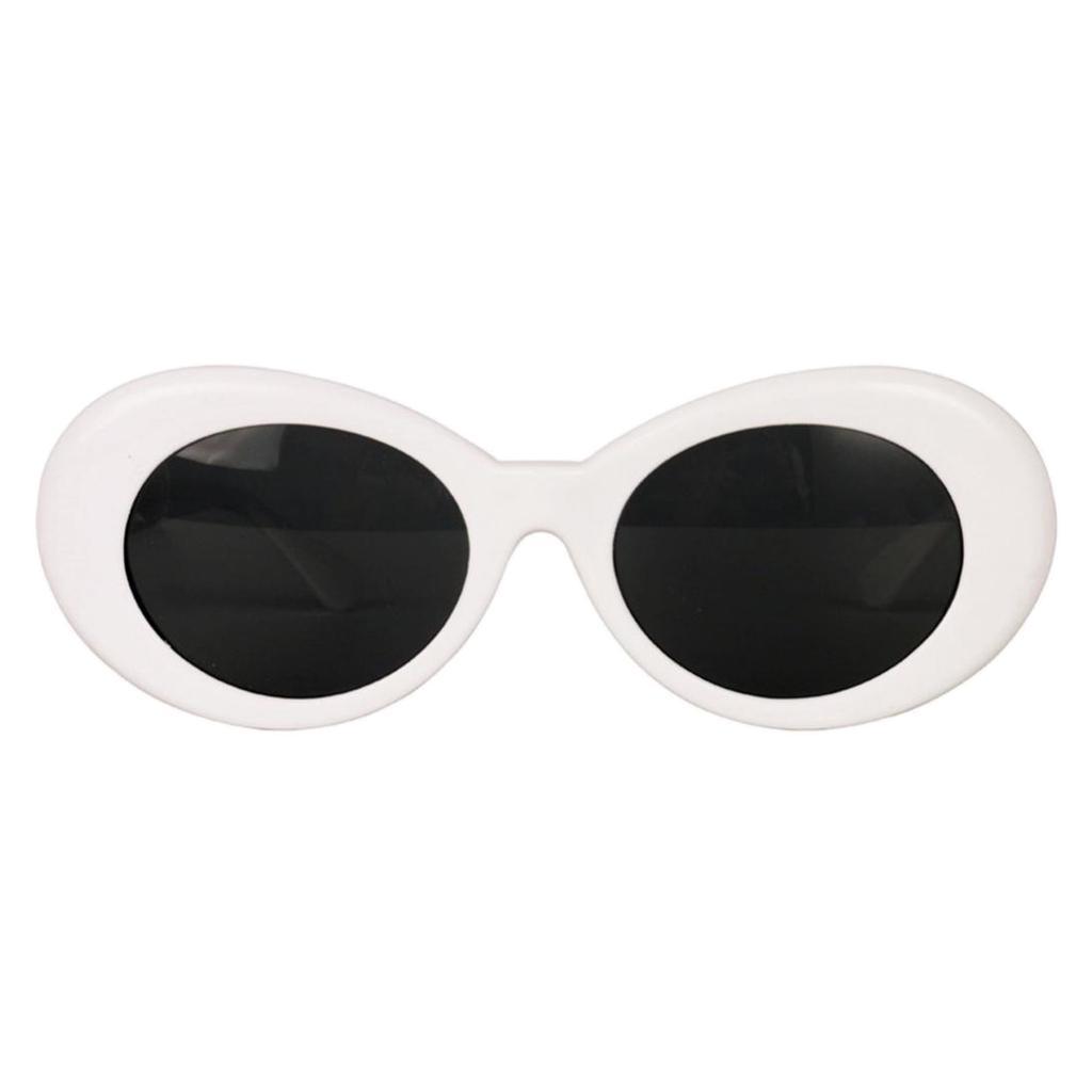 a8e17dbdf02ab Retro Clout Goggles Glasses Oval Bold Mod Thick Framed Sunglasses ...