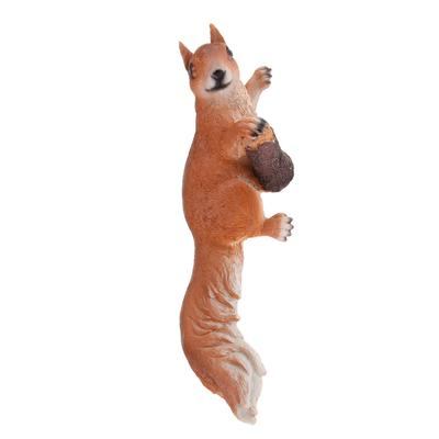 1pc Realistic Squirrel Figure for Home Garden Yard Lawn Decor Hold Chestnuts