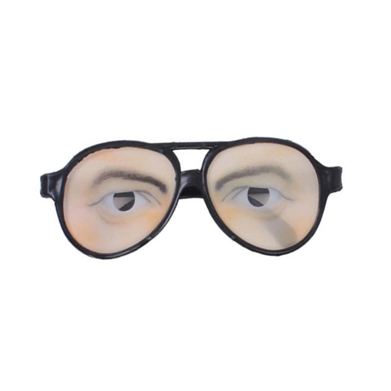 2aa2afab7 Truque de brinquedo masculino engraçado olhos óculos brincadeira ...