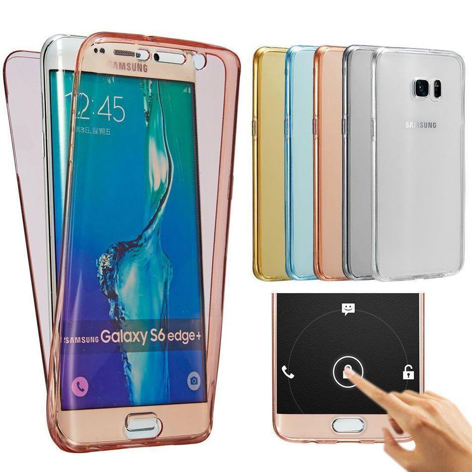 360 полный ТПУ для Samsung Galaxy S7 края A3 A5 2017 Примечание 5 Soft Touch защитный чехол фото