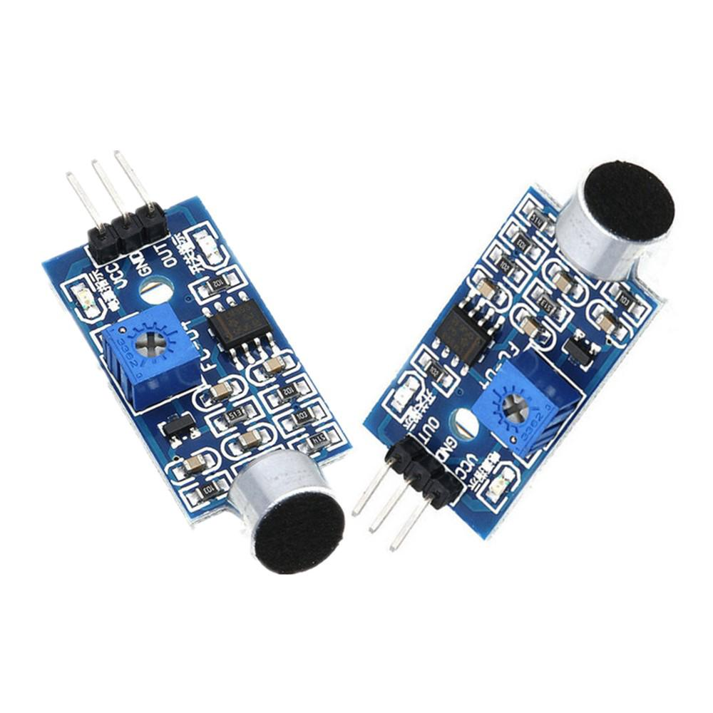 Microphone Sensor High Sensitivity Sound Detection Module For Arduino NMUSS G Xg
