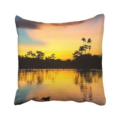 Cloud Foggy Forest With Sunlight In The Morning Dark Fog Landscape Mist Mountain Pine Pillow Case 20x20inch 50x50cm Buy At A Low Prices On Joom E Commerce Platform