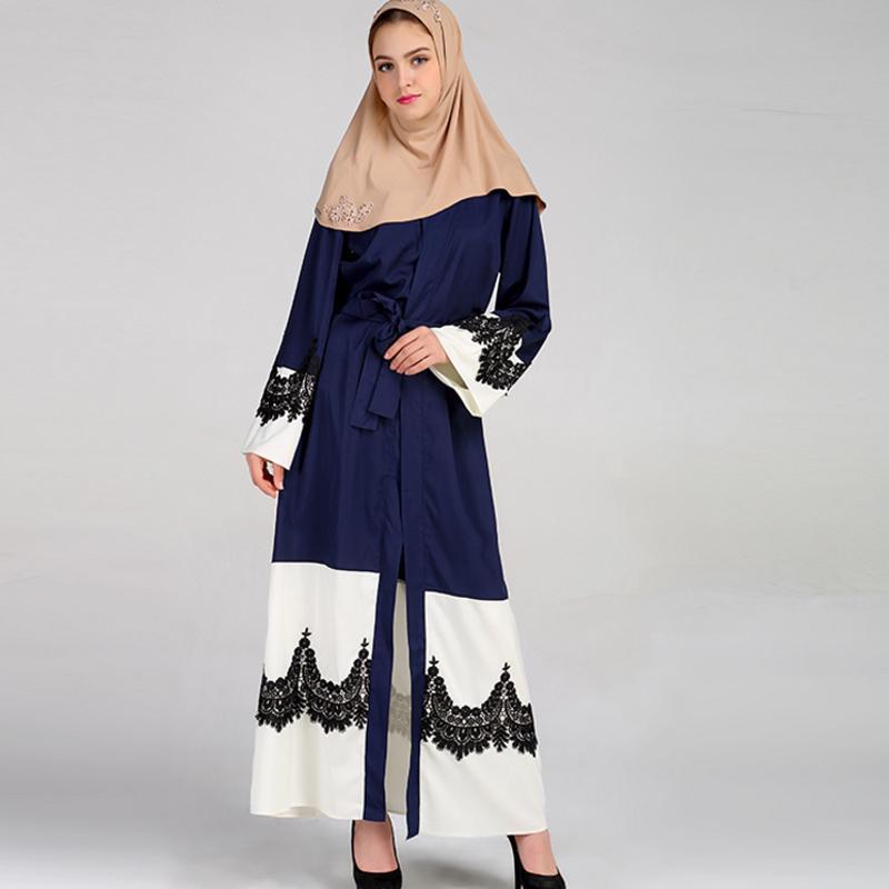 Long manteau femme musulmane
