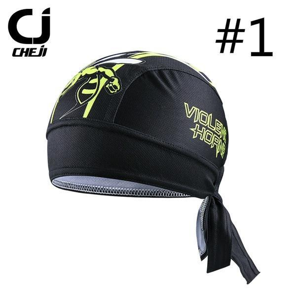 Cycling Cap Breathable Anti Sweat Quick Dry  Bicycle Riding Hats Random Color