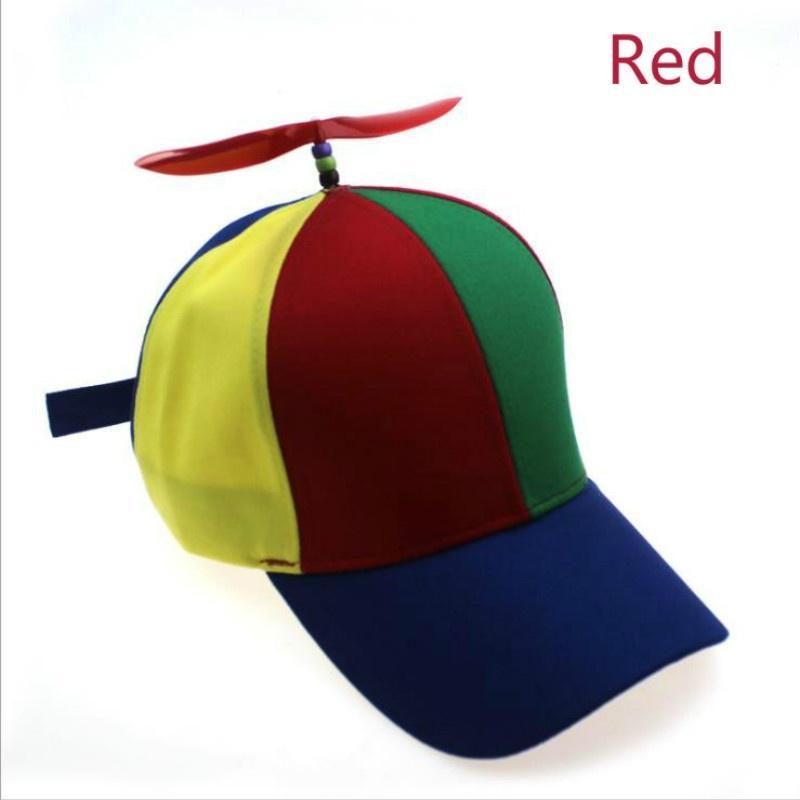 Kids Child Boy Girl Baseball Cap Summer Sun Visor Hat Windmill Peaked Funny Cap