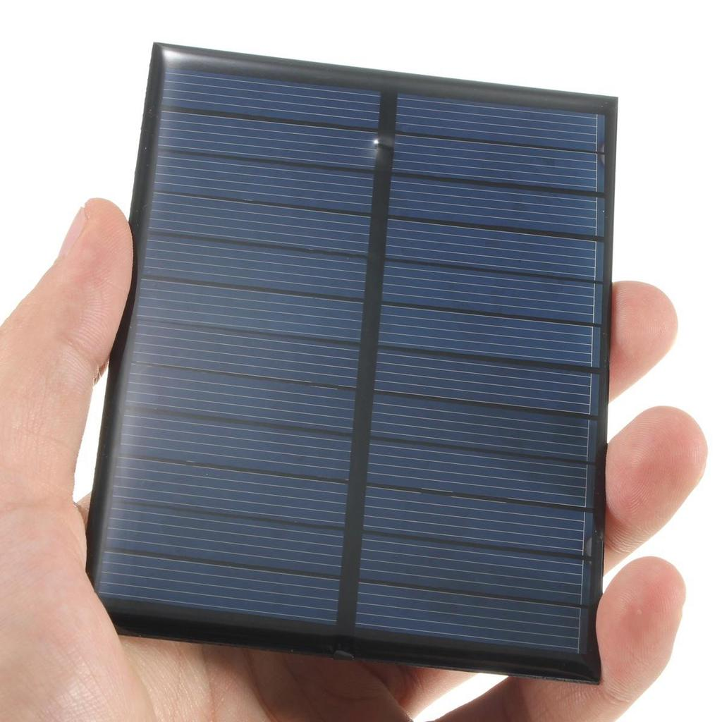 1W 4V Solar Cell Panel Charging Device 2*AA//AAA Rechargeable Battery Charger g