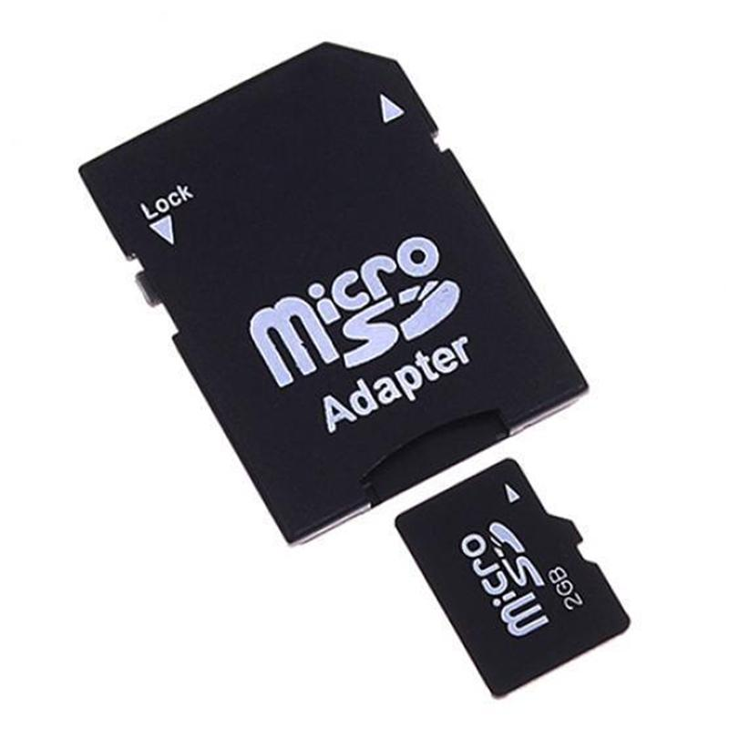 10Pcs Micro SD Adapter  TransFlash TF To SD SDHC Memory Card Adapter Converter