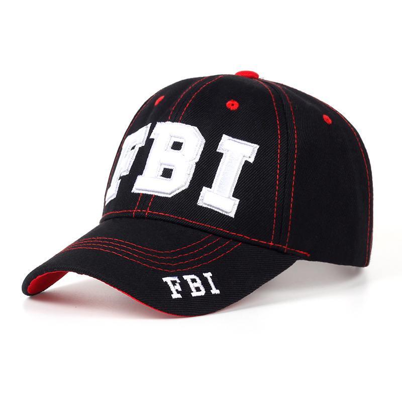 f310f63e7 Hat high quality snapback hats & caps FBI fashion leisure embroidery caps  unisex baseball cap dad cap bone