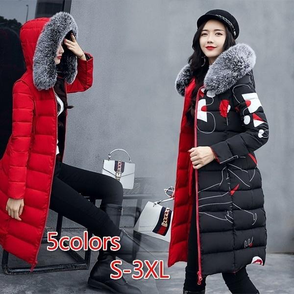 Зимой платье вниз хлопок платье девушки корейской версии самостоятельной культивирования платье две стороны надеть хлопчатобумажные – купить по низким ценам в интернет-магазине Joom