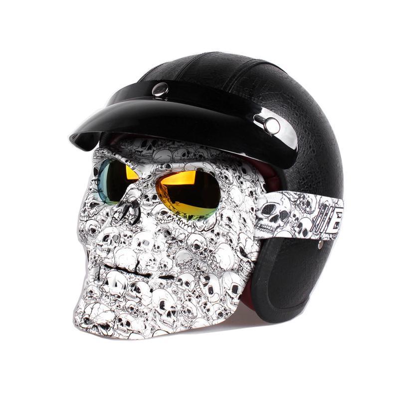 Мотоцикл очки шлем маска открытый езда Мотокросс черепа ветрозащитный легкий ветер очки Goggle – купить по низким ценам в интернет-магазине Joom