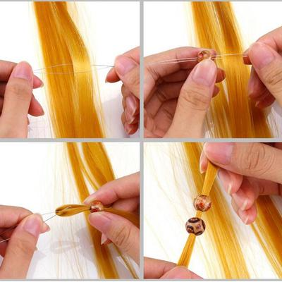 precios de liquidación niño precios baratass Rastas de pelo trenza accesorio madera perlas anillos Clips ...