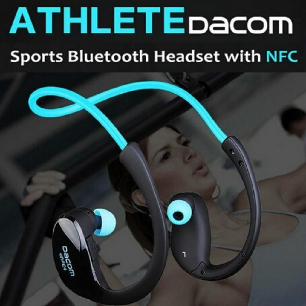 568866ee084 Dacom Athlete Bluetooth headset Wireless sport headsfree headphones ...