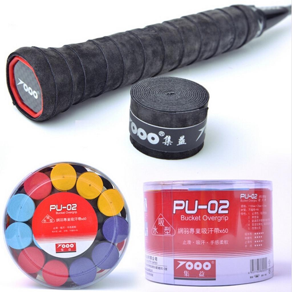 Absorb Sweat Squash Badminton Racket Towel Grip Tape Racquet Overgrip Purple
