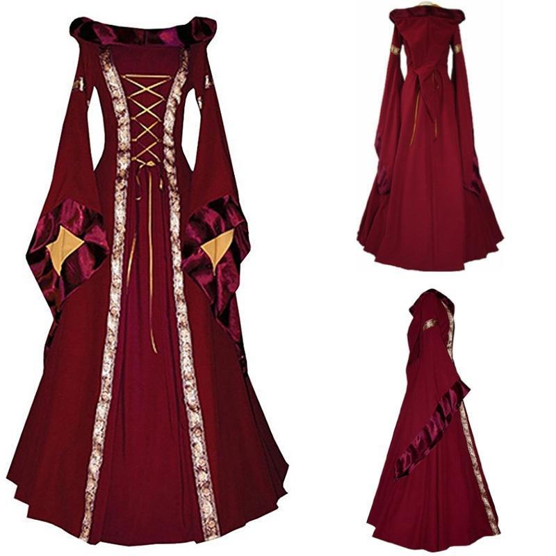 7254a22c532 Современный костюм Королева возрождения средневековых Девичьи ...