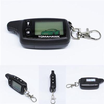 Two Way Car Alarm System Remote Controller Keychain for Russian Tomahawk TW9010