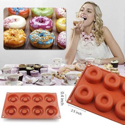 Mold Cupcake Bake Supplies Doughnut Molds Baking Tools Silicone Mold Cake Tool