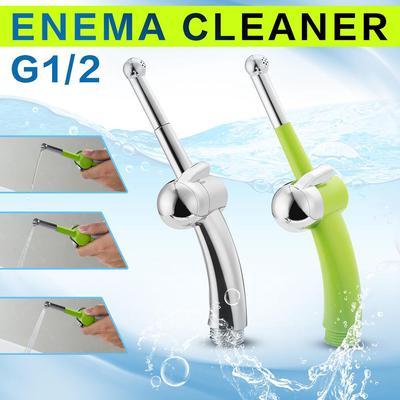 Shower Enema Douche Nozzle Attachment Bidet Vaginal Anal Cleansing