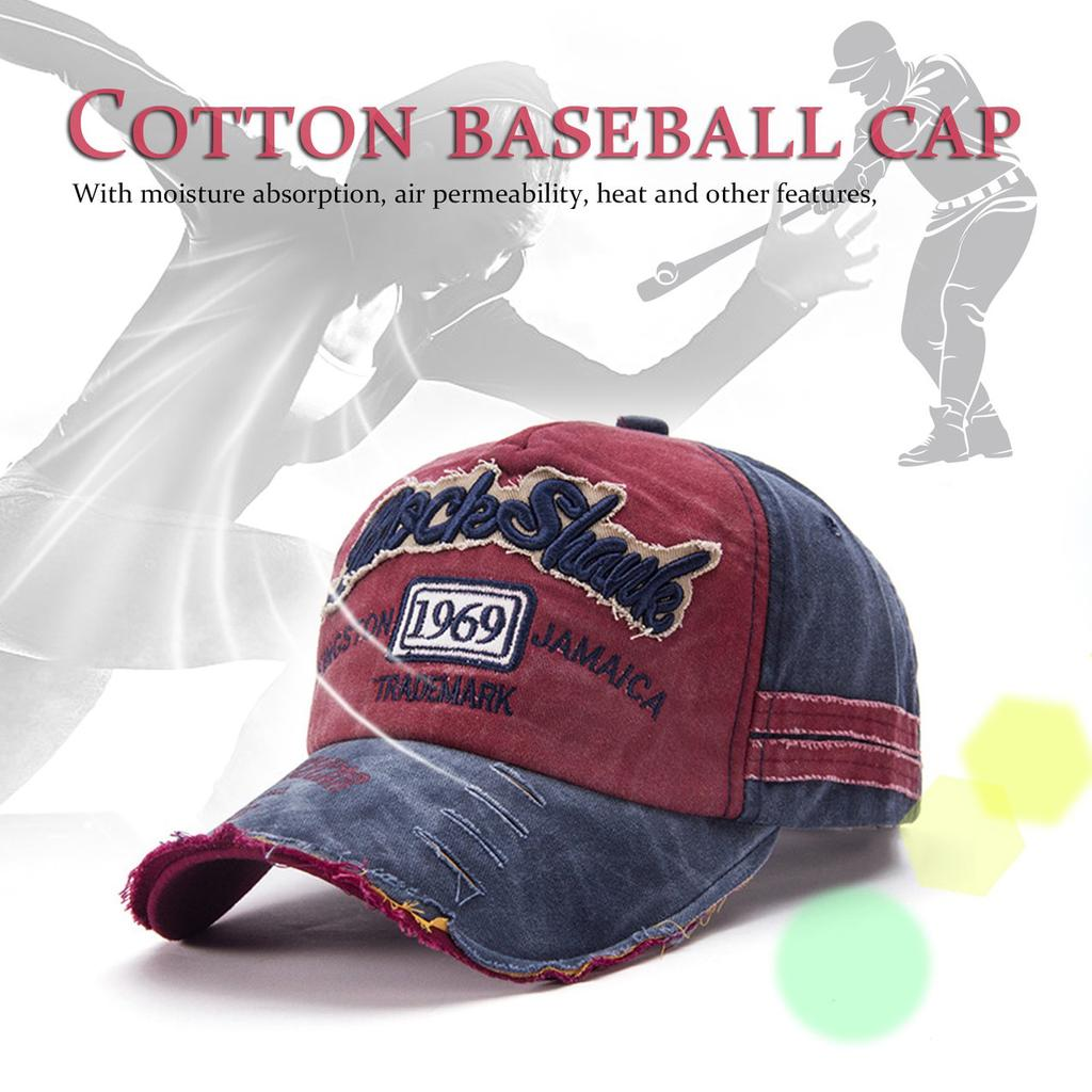 7f33776891b Men Women Summer Cotton Cap Baseball Casual Letter Embroidery Hats-buy at a  low prices on Joom e-commerce platform