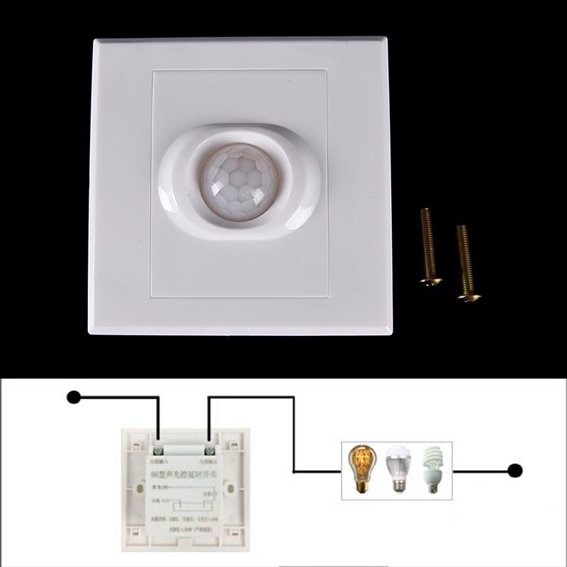 Light Lamp Recessed Wall Lamp  Senser Switch Motion Sensor Infrared PIR