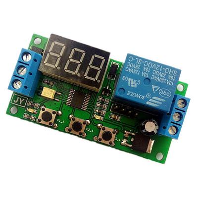 Adjustable Pulse Trigger Delay Disconnect Power Cycle Timing Delay Switch Relay Control Module