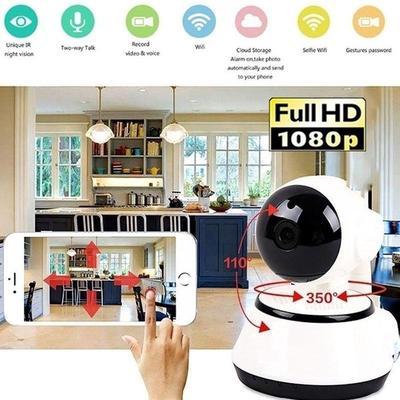 Smart Wifi Camera Home Ip Camera V380 Security 1Mp Onvif Turn Camaras De Seguridad Wireless Camara
