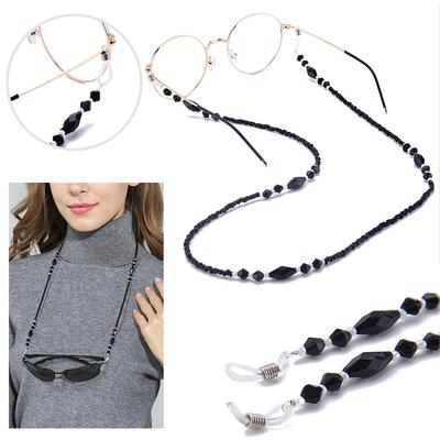Neck Cord Lanyard Glasses Sunglasses Strap Bead Chain Spectacle Holders