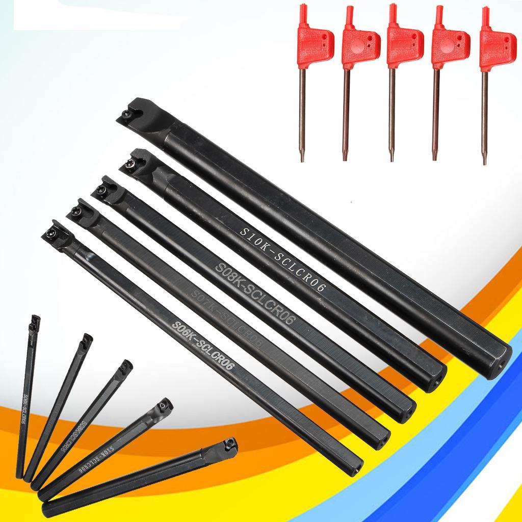 S06K//S07K//S08K//S10K//S12M-SCLCR06 Lathe Turning Tool Holder Boring Bar For CCMT