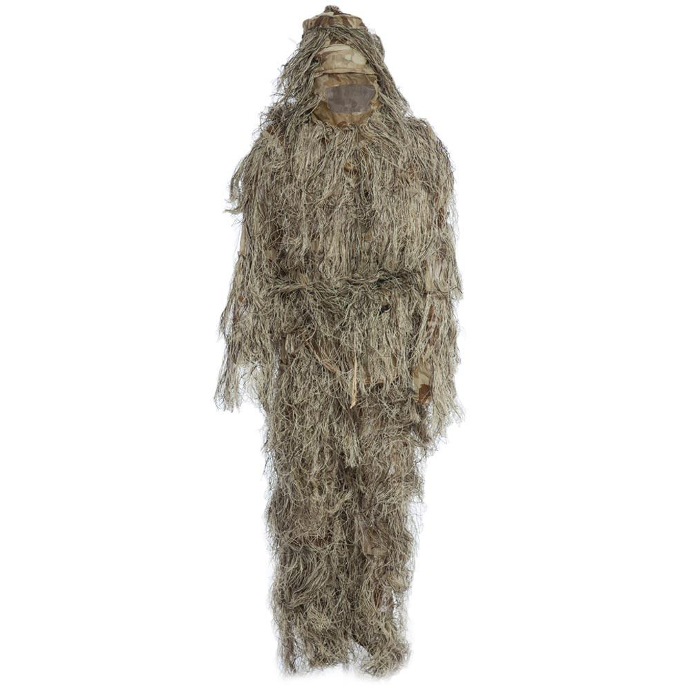 Tactical Ghillie Snow Suit Camouflage Bionic White Costume Photogray Conceal