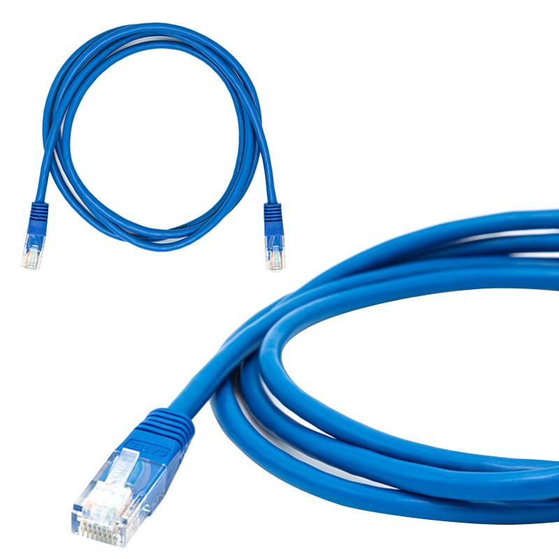 Connectors Cat5e Patch Cables Yellow Ethernet Internet LAN CAT5e Network Cable for Computer Modem Router Cable Length: 50cm