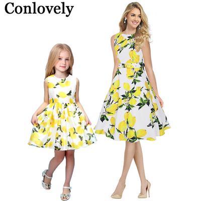 a0f051427 Madre hija vestido bohemio vacaciones para Moda primavera otoño mamá y para  mí familia juego