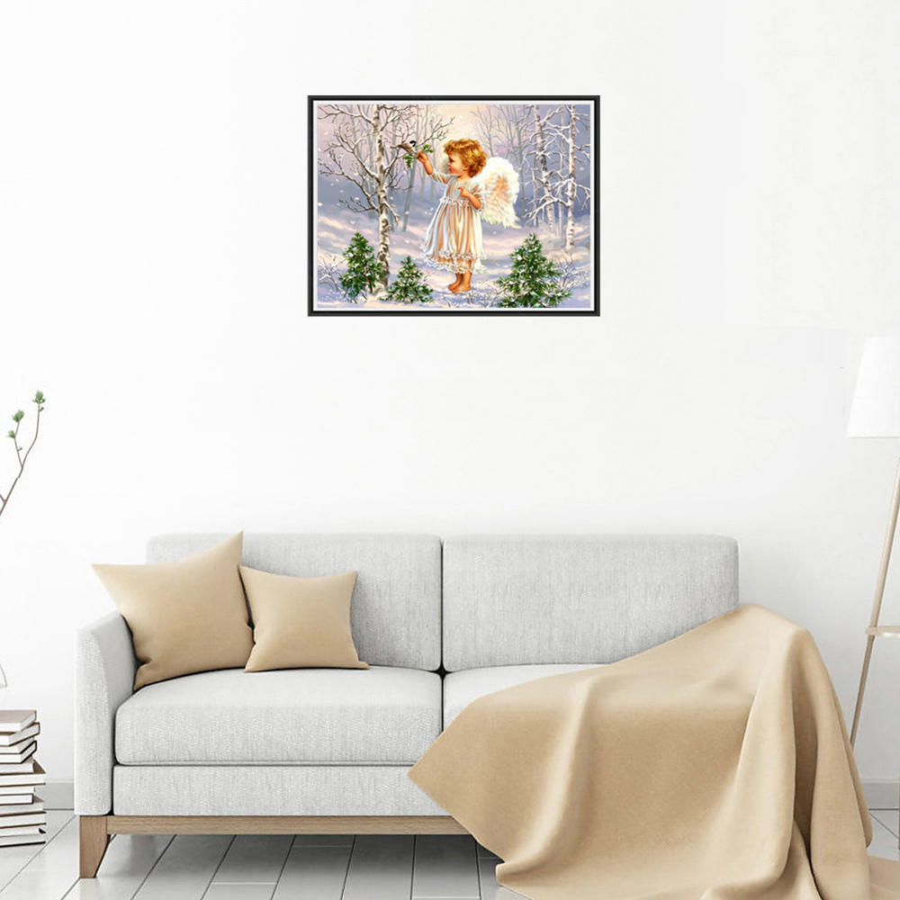 Little Angel Diamond Painting Home Decoration Buy At A Low Prices On Joom  E Commerce Platform