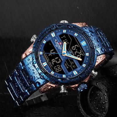 Wrist Watch Man Stainless Army Military Luxury Brand Men Watch Fashion Sports Watches Men's Quartz Clock