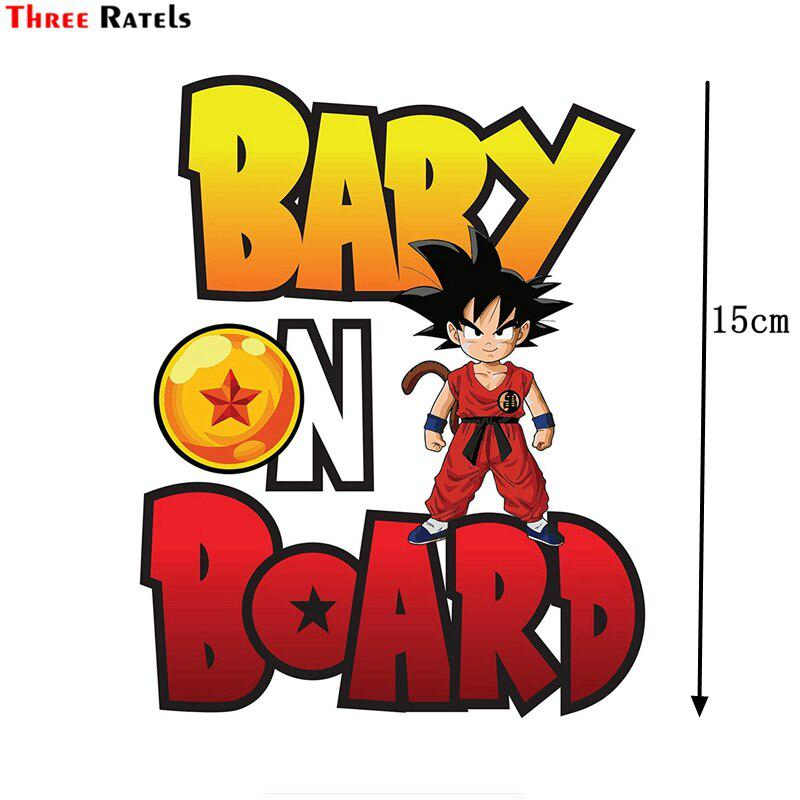 Three Ratels Fc67 Baby On Board Dragon Ball Goku Sticker Decal Vinyl Sign For Car Truck Suv Baby Room Wall Decal Buy At A Low Prices On Joom E Commerce Platform