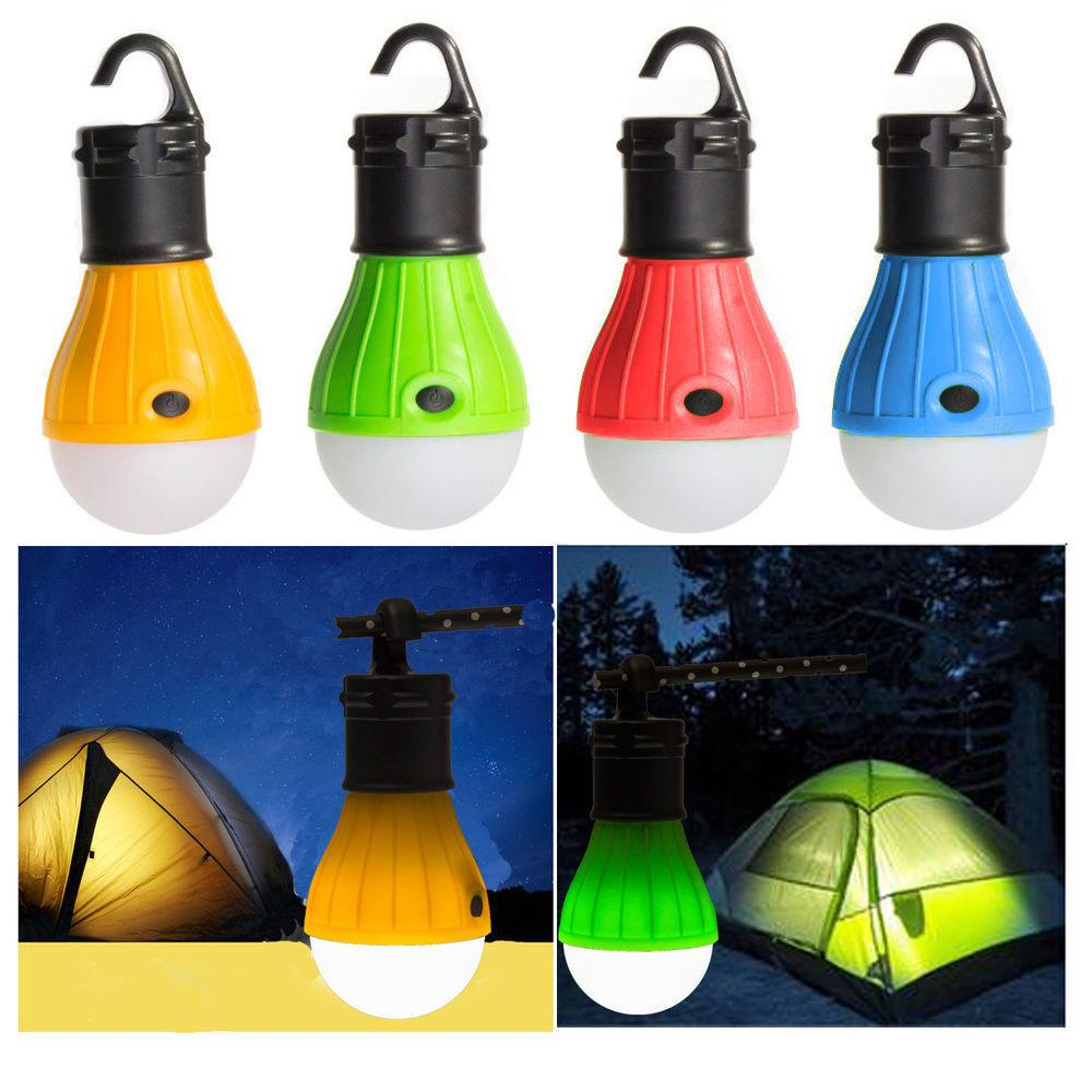 1pcs//3pcs Hanging LED Tent Lamp Light Bulb Fishing Lantern Lamp Outdoor Camping