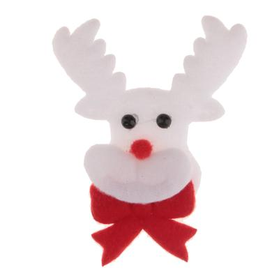 Christmas Deer Applique Patch Xmas Costume Embellishments DIY Craft Decor b9a4d3018305