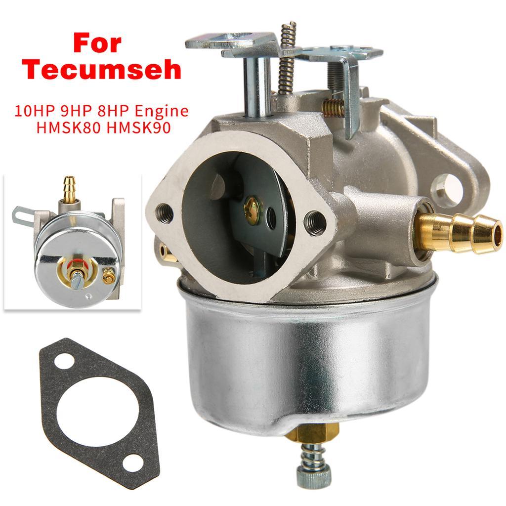 1x Carburetor For Tecumseh 8HP 9HP 10HP HMSK80//90 Snowblower Part Chipper Carb