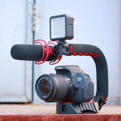 Pro Video Stabilizing Handle Grip for Panasonic Lumix DMC-GH4 Vertical Shoe Mount Stabilizer Handle