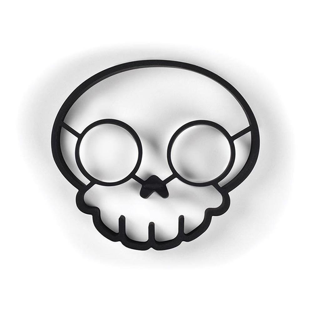 Cocina accesorios Unny hacia arriba cráneo silicona huevo molde arte ...