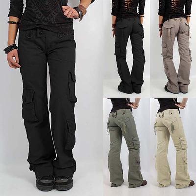 Fashion Pantalons Multi Femmes De Randonnée Poches Casual Longue Jambes Cargo Jeanspantalons Larges LGqVUpzMS