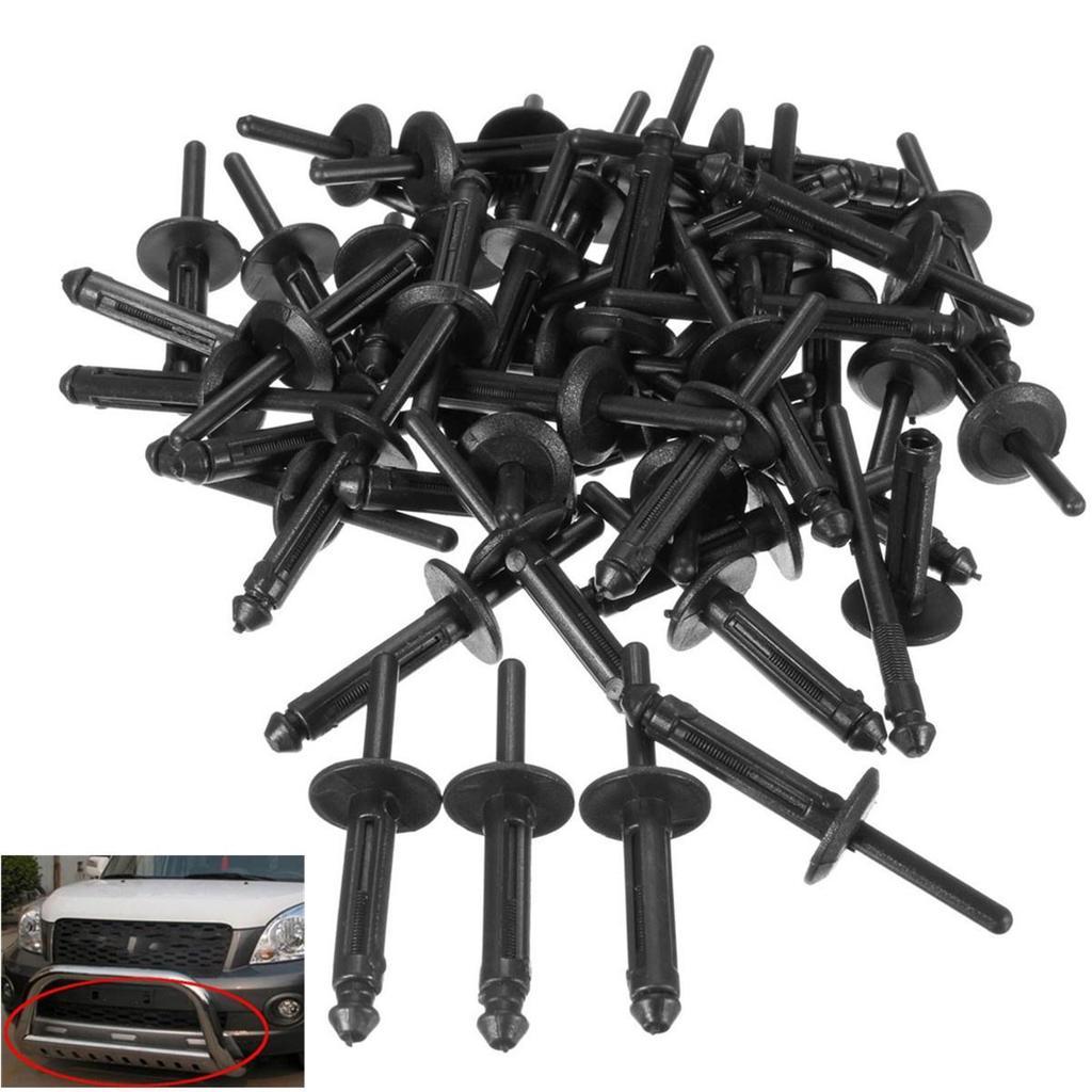 Lots 30PCS Car Vehicle Parts Black Front /& Rear Bumper Clip Retainer Fastener